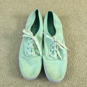 Mint sneakers